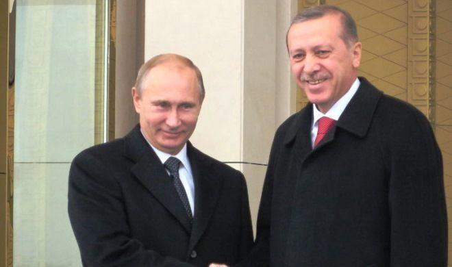 Эрдоган и Путин обсудили лесные пожары в Турции