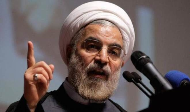 Rouhani: The Iranian people suffer because of this war