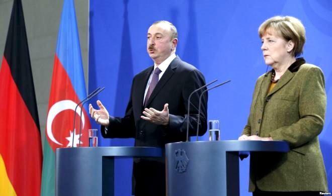 Ilham Aliyev sent a letter to Merkel