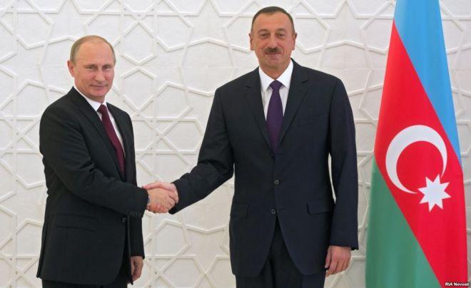 Ilham Aliyev called Vladimir Putin
