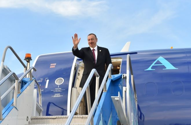 Ilham Aliyev visit this country