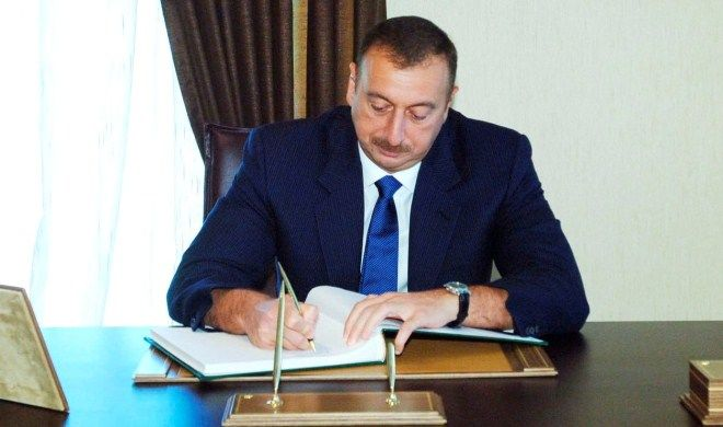 Ilham Aliyev sent a letter to the Emperor