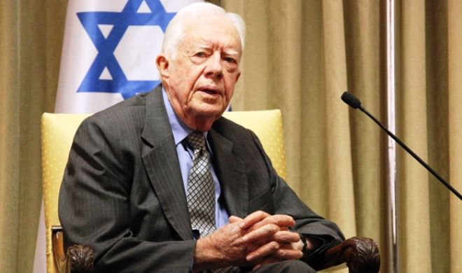 Jimmy Carter becomes oldest living former US president