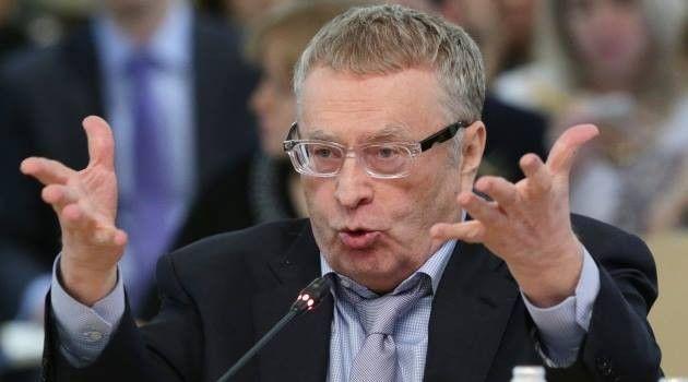 Ukrayna kəşfiyyatı Jirinovskini Kiyevə çağırdı