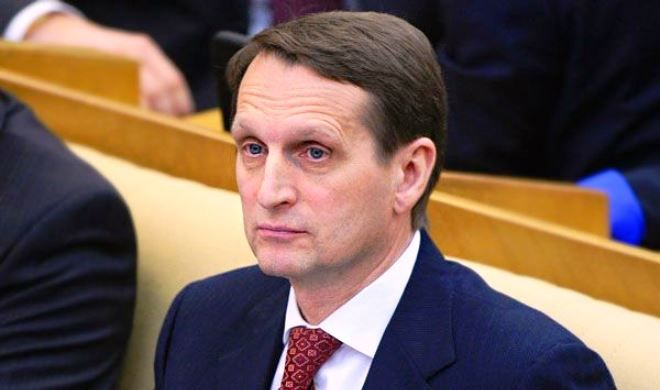 Naryshkin: This is the goal of Navalny task
