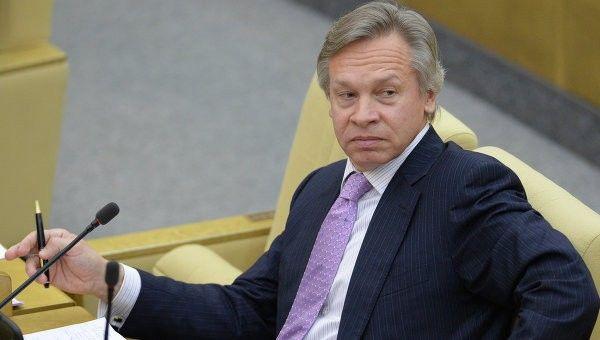 Отрадно - Пушков о переговорах Алиева с Саргсяном