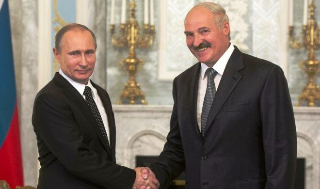 Lukashenko spoke with Putin on the phone
