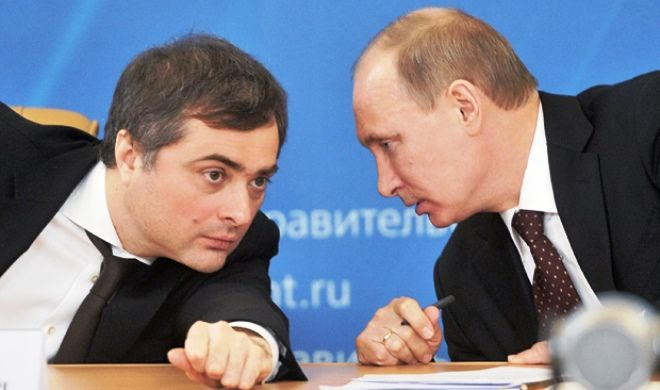 Putin removes Surkov from presidential aide office