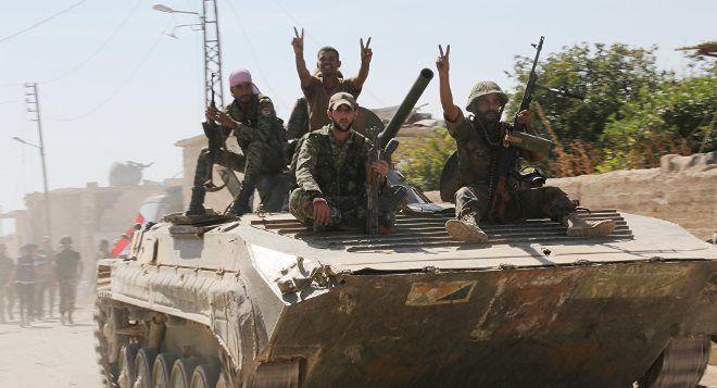 Suriya ordusu İŞİD-i mühasirəyə aldı - Video