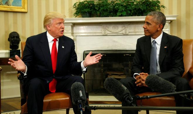 ترامپ اوبامانین قرارینی لغو ائتدی