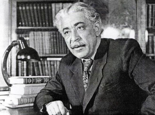 صمد وورغون و علی قیلینجلی شاعر - نادیر فوتو