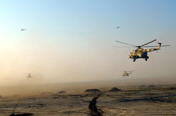 Ordumuz aviasiyanı havaya qaldırdı