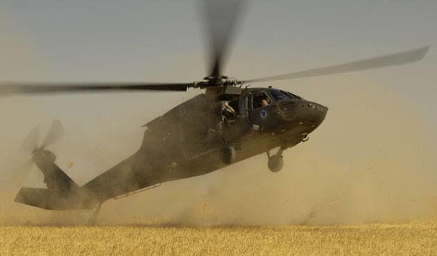 تهران یانغینا گؤره هلیکوپتر گؤندرمهدی