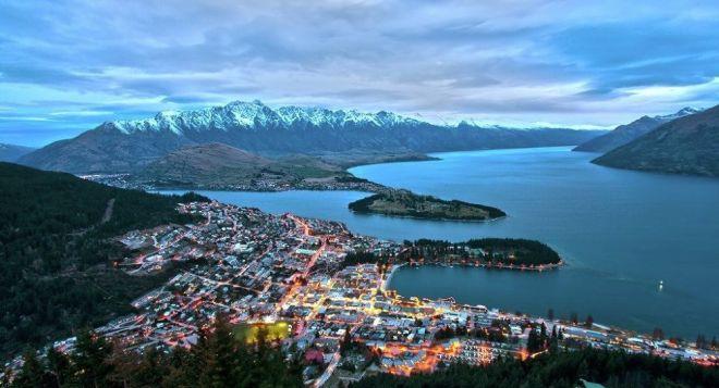 Землетрясение произошло у берегов Новой Зеландии