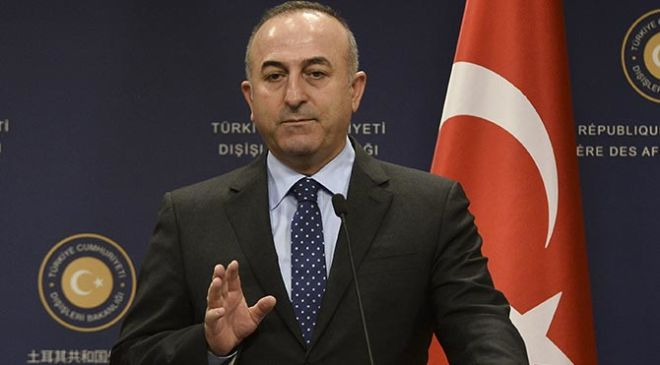 Turkish FM discusses Palestine with counterparts