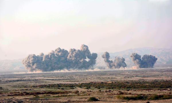 تورکییه شیمالی عراقی بومبالادی: سلاح آنباری محو ائدیلدی