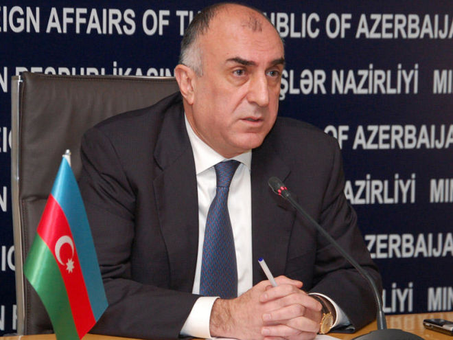 Elmar Mammadyarov left for Latvia
