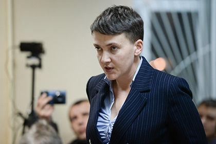 Савченко задержали в Раде