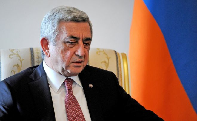 Sargsyan refused to run in the election