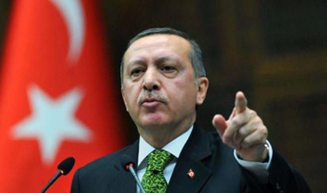 """Erdogan's response to those who say """"the occupation of Istanbul."""""""