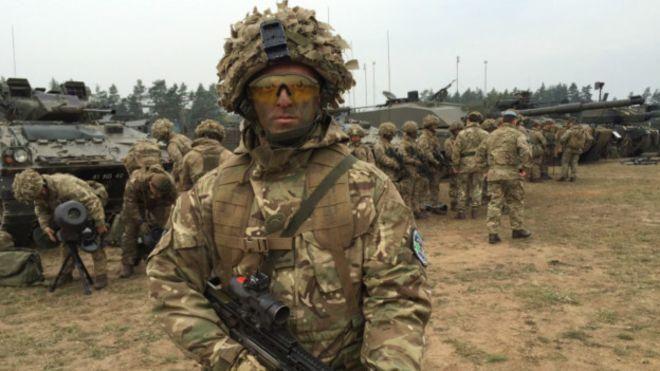 Словенские военные замерзли на учениях НАТО