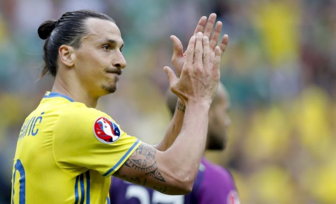 Ibrahimovic started talks with AC Milan