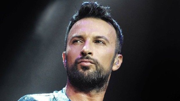 Tarkan showed his daughter's face first time -