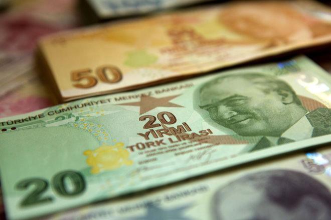 Турецкая лира падает с Голанских высот