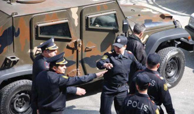Sumqayıtda polis leytenantı özünü güllələdi