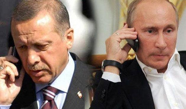 اردوغانلا پوتین راضیلیغا گلدی – تلفن دانیشیغی