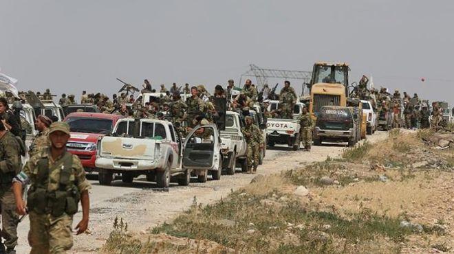 США размещают террористов на границе Сирии с Турцией