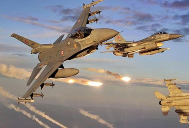 Türk ordusu İraqın şimalını bombaladı