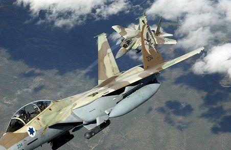 Израиль ударил по югу Сирии