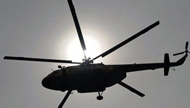 В Хорватии упал военный вертолет