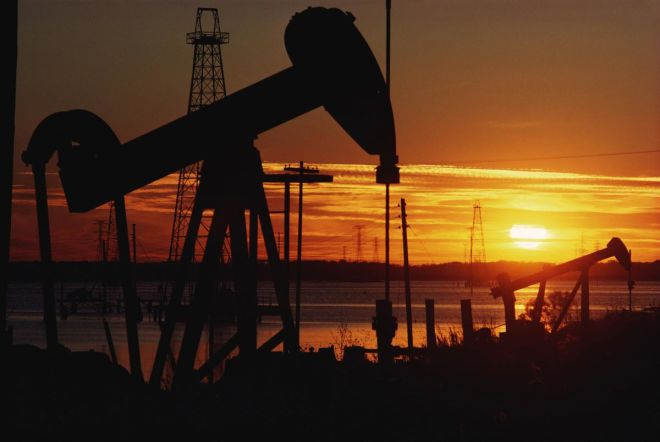 Oil prices fell slightly