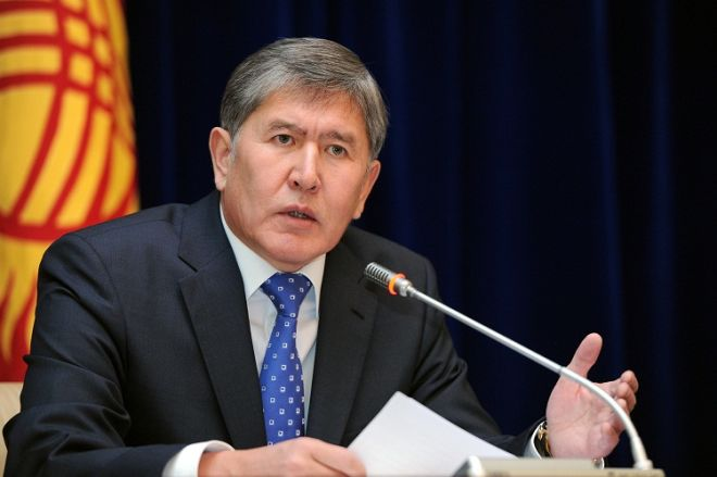 Atambayev: Prezident kimi çox səhv etdim