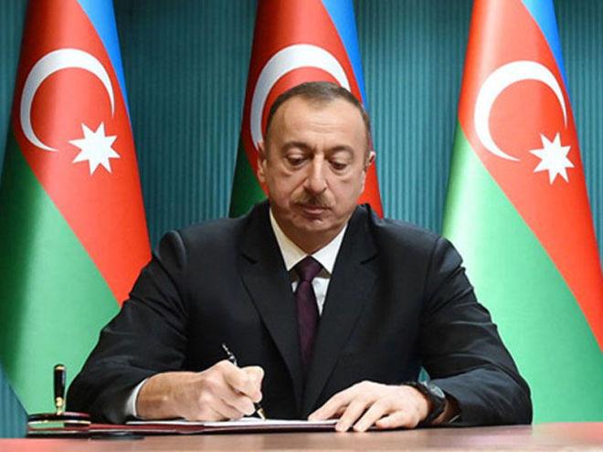 Ильхам Алиев подписал распоряжения