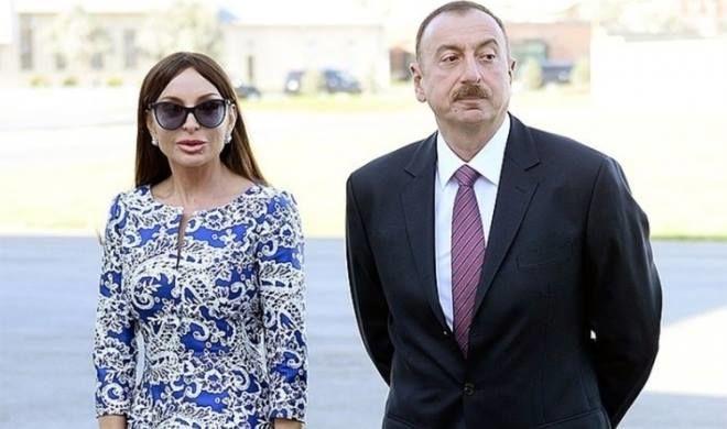 İlham Əliyev və xanımı 20 nömrəli məktəbin açılışında