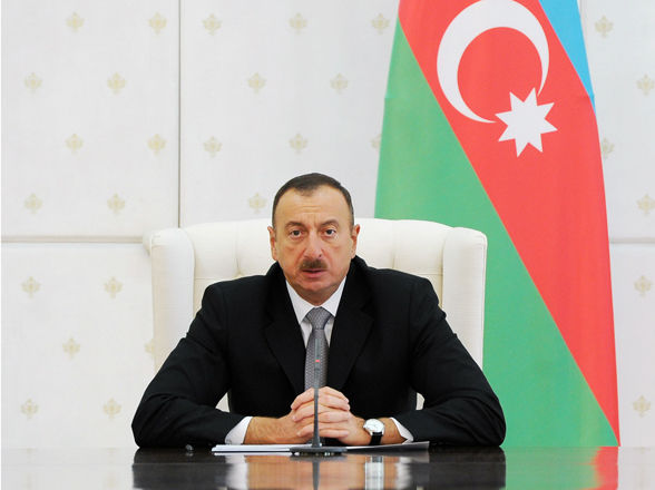 Ilham Aliyev has sent letters to two presidents