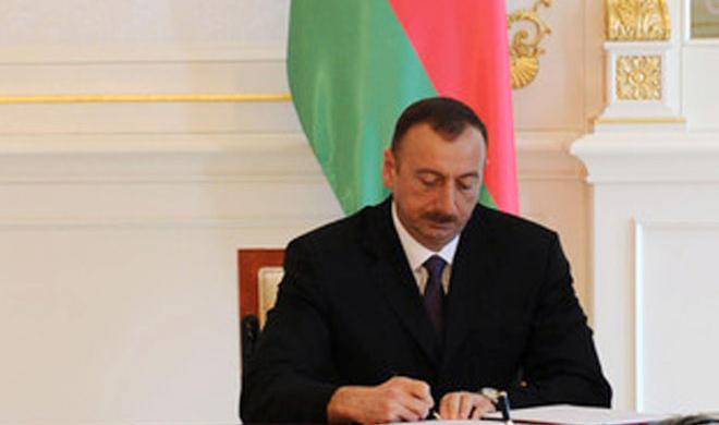 İlham Əliyev 6 fərman, 6 sərəncam imzaladı