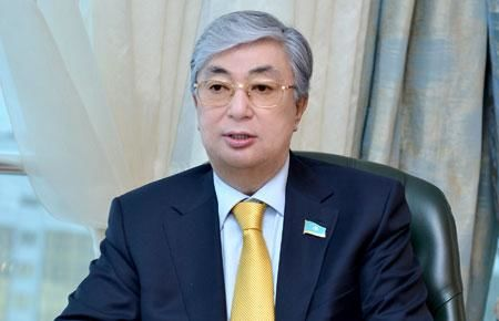 New Kazakh president on his first working trip