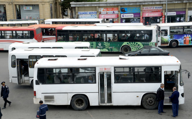 Снижен проезд в автобусах Баку-Сумгайыт