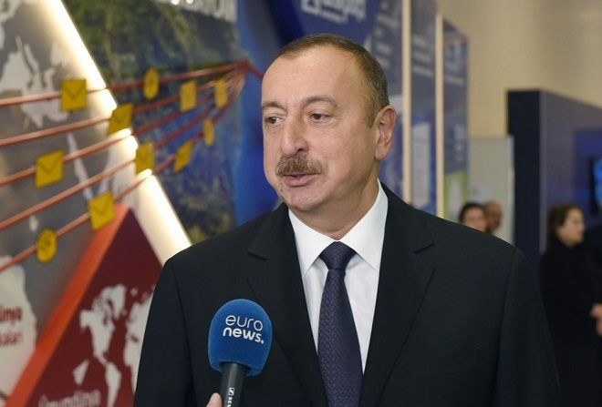 İlham Əliyev Azərbaycan Televiziyasına müsahibə verib