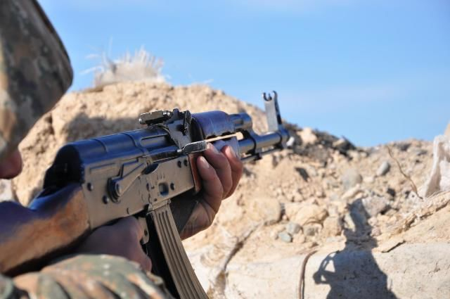 Armenia violated ceasefire 117 times