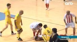 В Мингячевире футболист скончался в ходе матча  - Видео