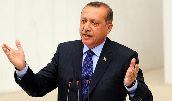 Нас не поставить на колени - Эрдоган
