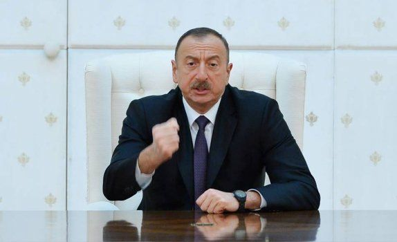 We drove the enemy out of our lands - Ilham Aliyev