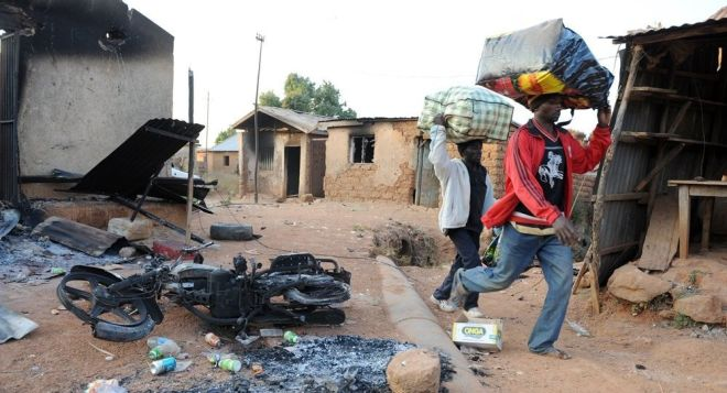 نیجرییادا دهشتلی تراکت: اؤلو و یارالیلار وار