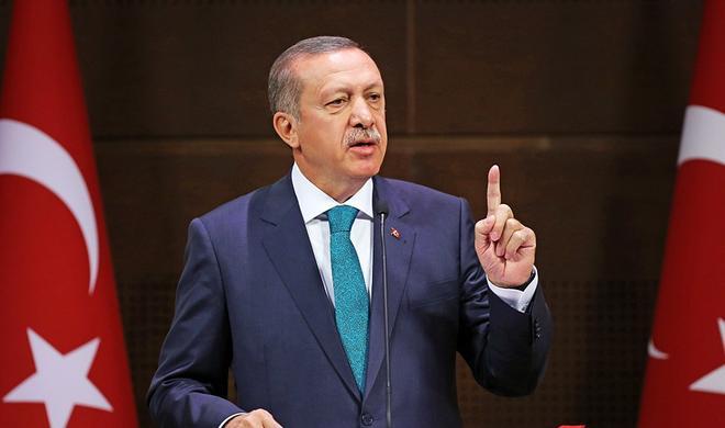 Это подлое лицо террора - Эрдоган