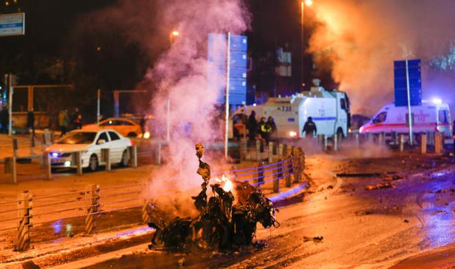 Теракты в Стамбуле: 38 шехидов - Обновлено/Видео